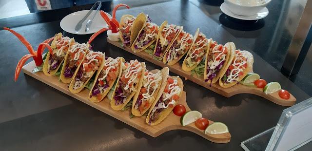 taco isi sayuran ala masakan meksiko