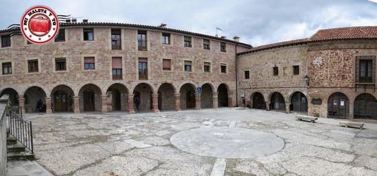 #GlobellersRural en la Plaza de la Cárcel de Sigüenza