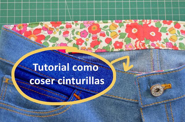 Tutorial coser cinturilla - método no convencional