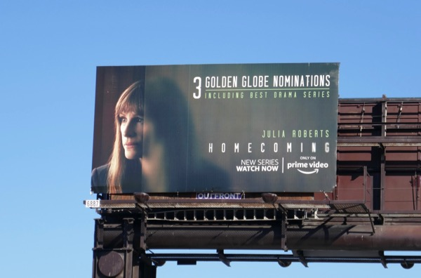 Homecoming Golden Globe nominee billboard