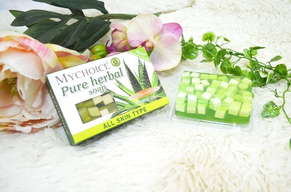 MyChoice Pure Herbal Fruity Soap with Aloe Vera Extract review