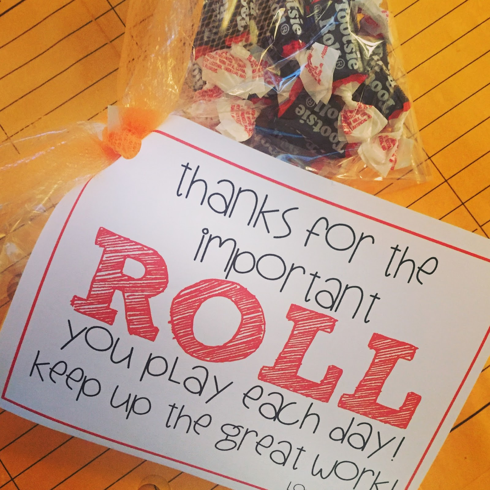 technology rocks. seriously.: Treat Tags: Tootsie Rolls