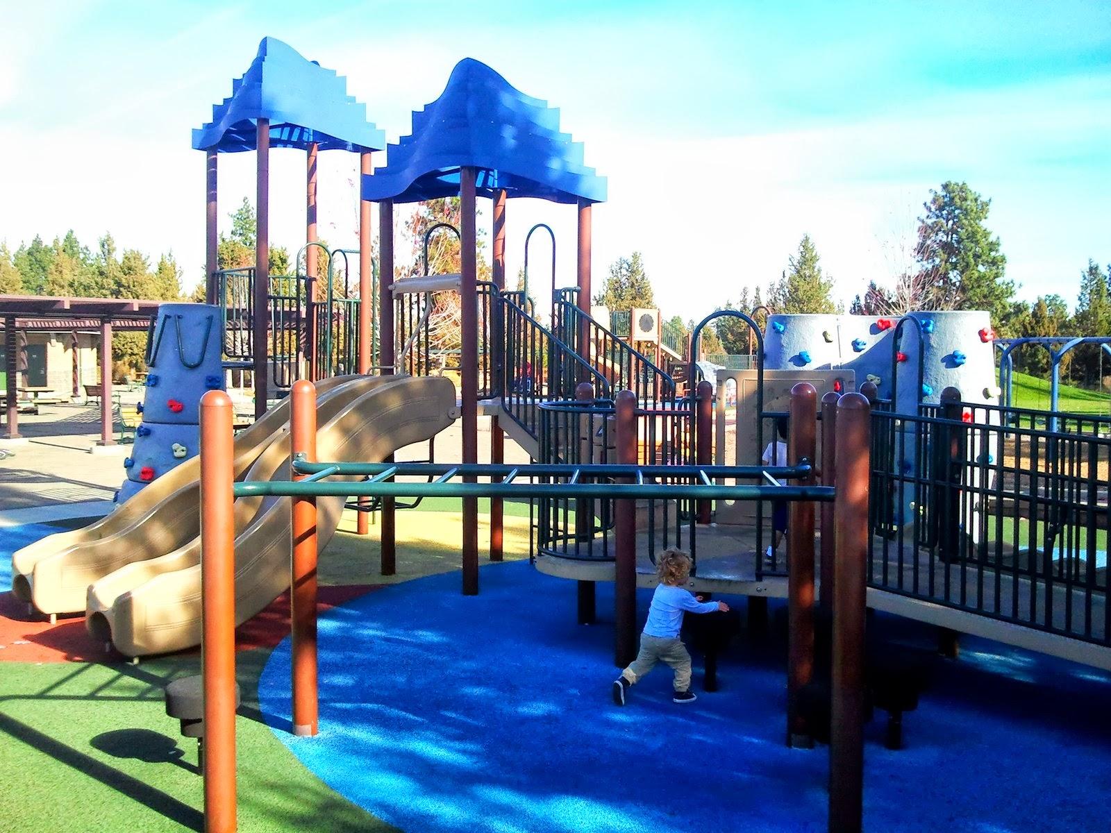 Larkspur Park Bend Central Oregon Dad