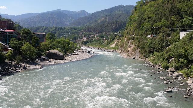 Ravi River near Chamba