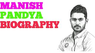 manish pandey biography