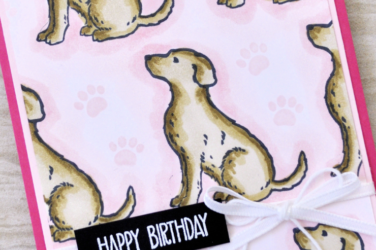 Jo's Stamping Spot - Happy Tails Birthday
