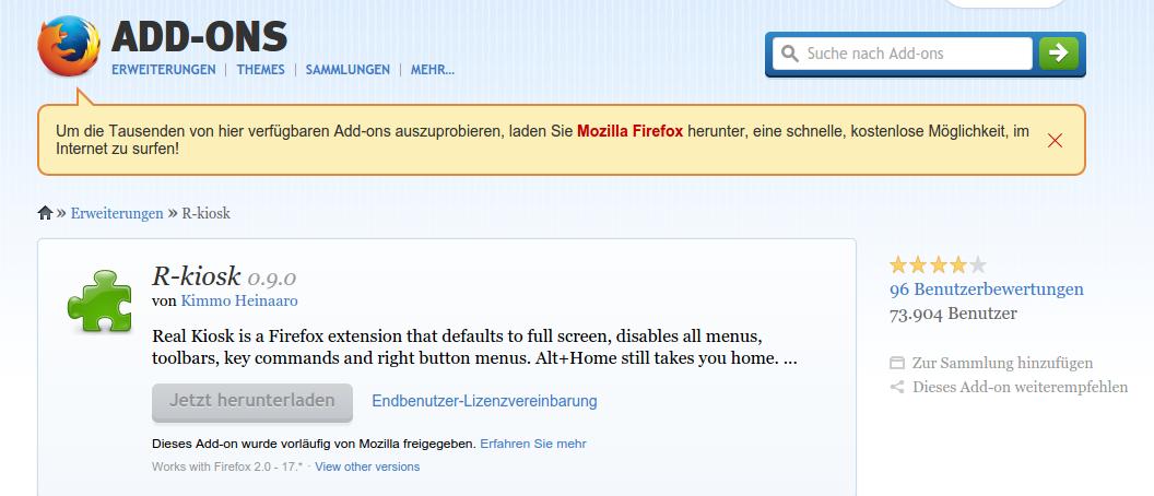 Como rodar Firefox e Google Chrome em modo Kiosk ...
