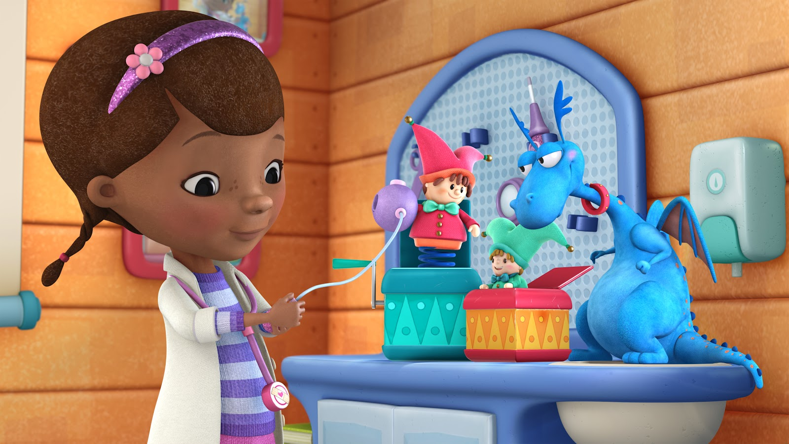 Meet Doc McStuffins, The Toy Doctor