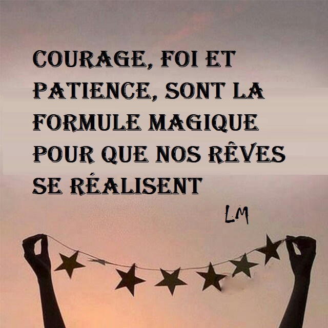 Citation De Courage Et Patience Forumhulp