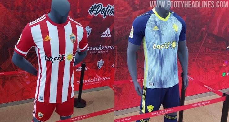 el primero Constituir Carteles  Almería 19-20 Home and Away Kits Released - Footy Headlines
