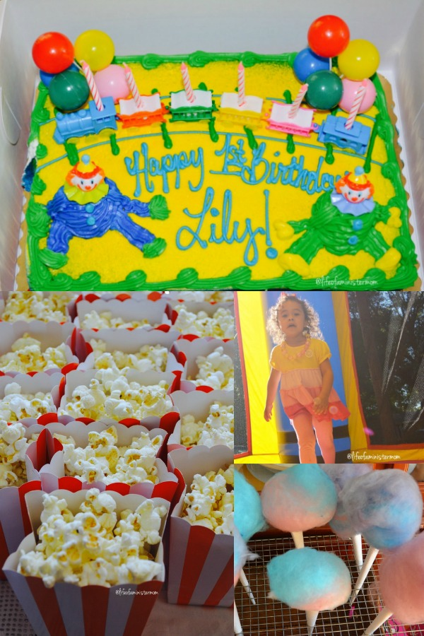 Circus themed birthday ideas for kids.
