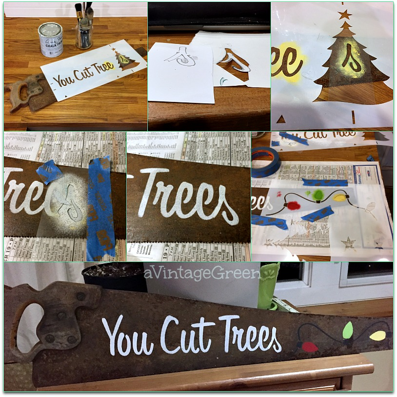 Designed /& Made in Canada Bakery Stencil by Funky Junk Interiors