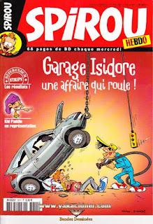 Spirou Hebdo, Garage Isidore..., numéro 3611, année 2007