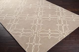 custom hand tufted rug in cut pile