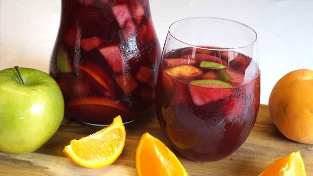 Sangría Española -la bebida del verano-