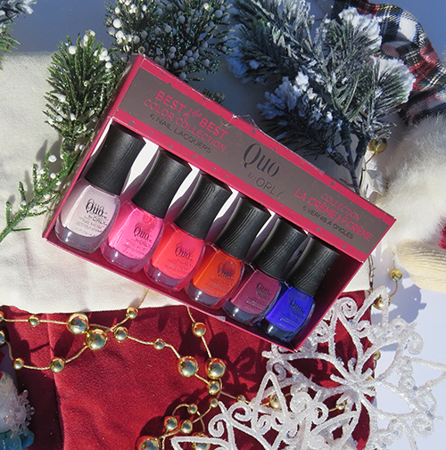 Quo Cosmetics Best of the Best Colour Collection only at Shoppers Drug Mart #2016giftguide