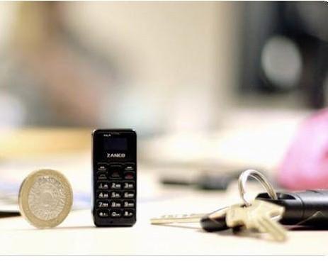 Zanco Tiny T1 - World's Smallest Phone With 32GB Memory