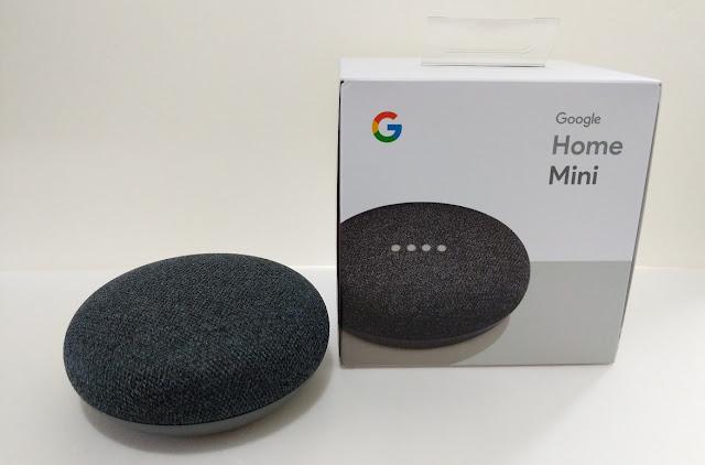 Unboxing of Google Home Mini