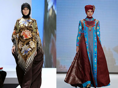 Batik Hijab Bohemian Style