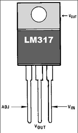 LM317 pinout.