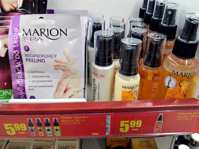 Kosmetyki z Biedronki - odżywki do włosów Marion