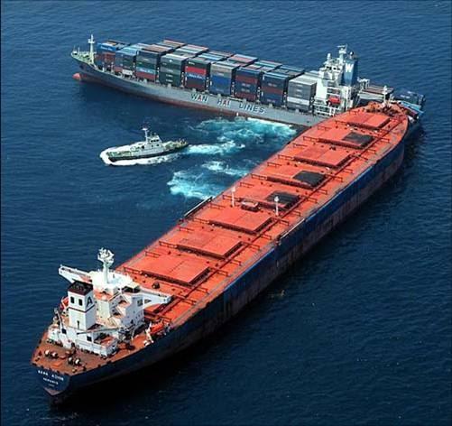 Pengertian Collision Tubrukan Kapal