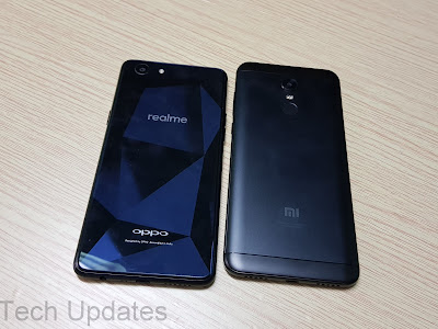 Realme 1 vs Xiaomi Redmi Note 5 Comparison