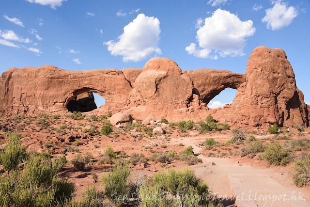 拱門國家公園, Arches National Park, Windows Section, South Window