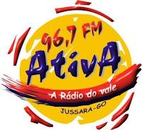 Rádio Ativa FM 96,7 de Jussara GO