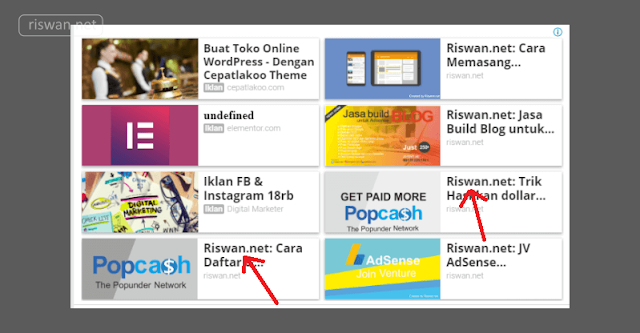 Cara Menghilangkan Judul Blog Pada Iklan Matched Content Adsense