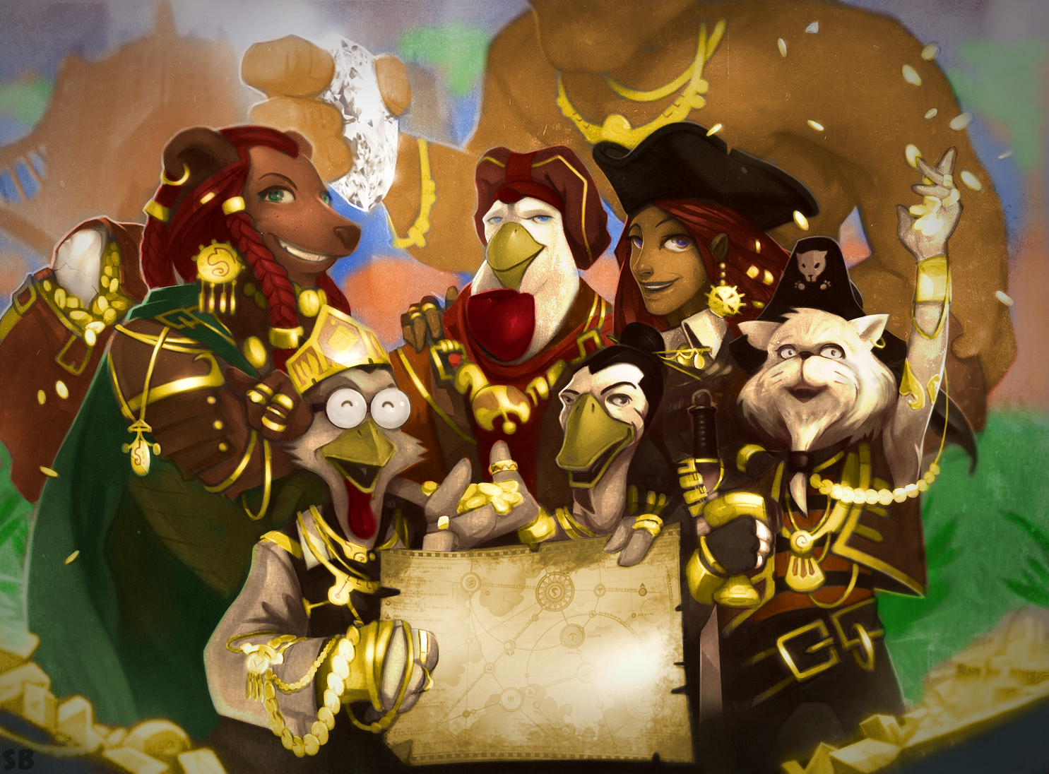 Pirate101 Marco Pollo's Crew Full Color Photo