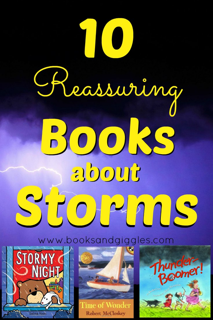 10 Reassuring Books About Storms