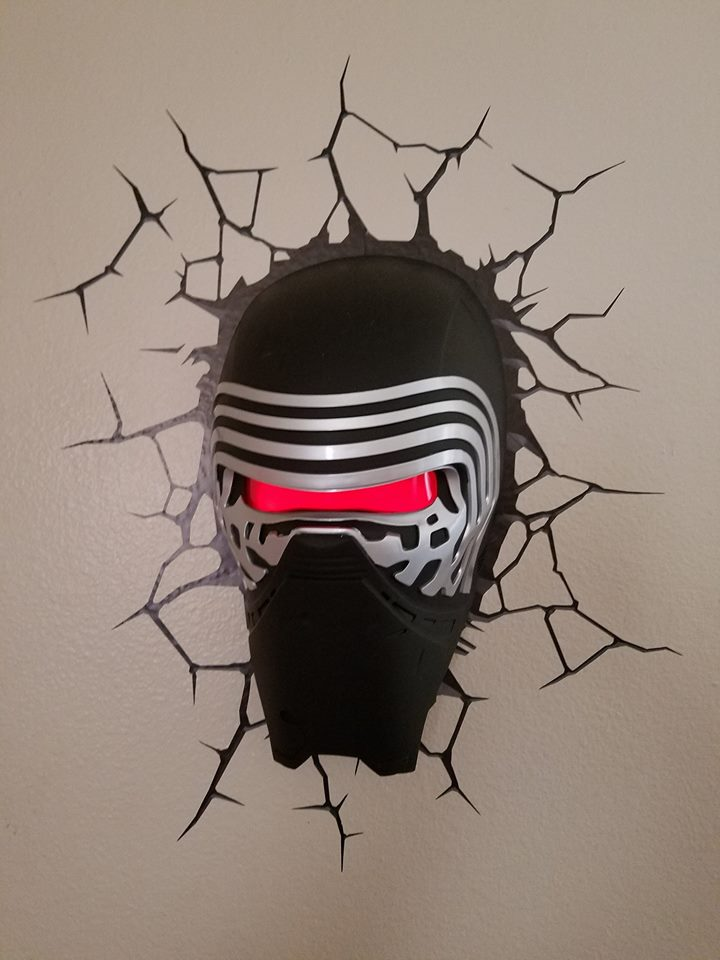 3d Deco Superhero Wall Lights Review : Kylo Ren 3D Deco Light Review Jenn s Review Blog