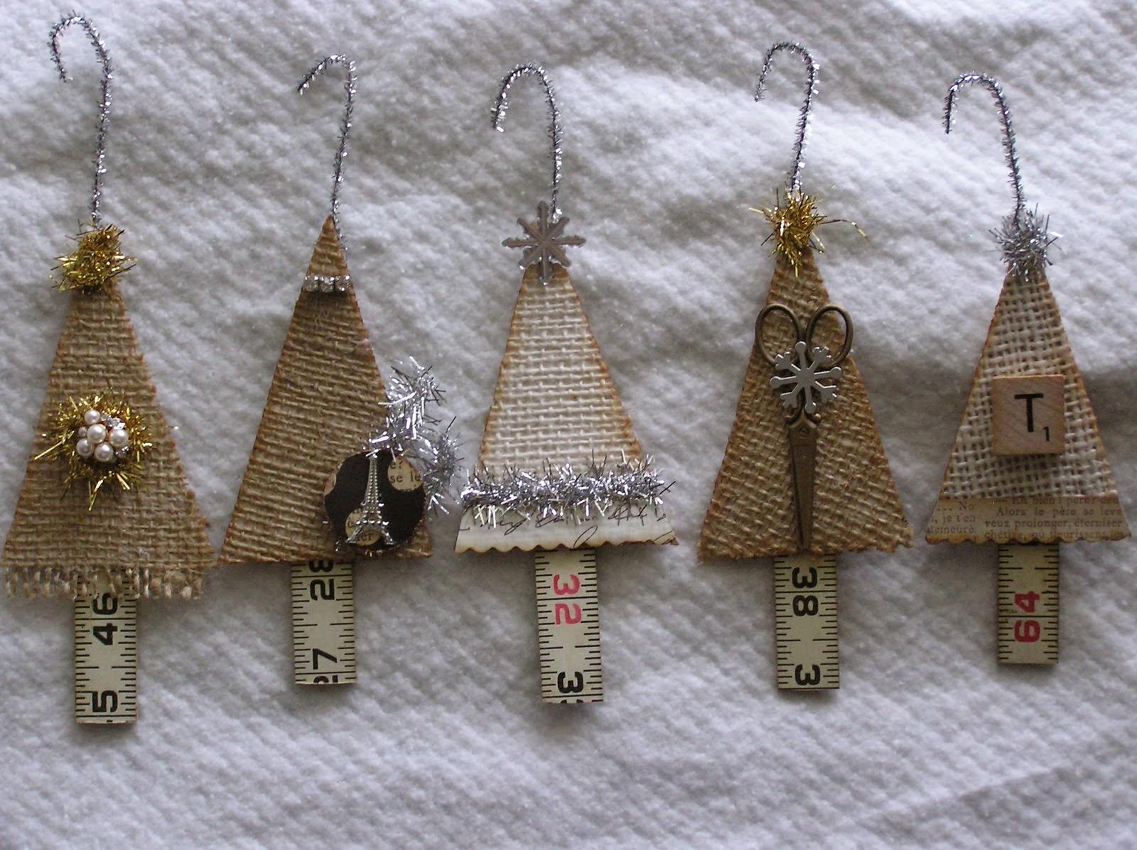 Rag Rescue: Vintage Fabric Christmas Tree Hangers