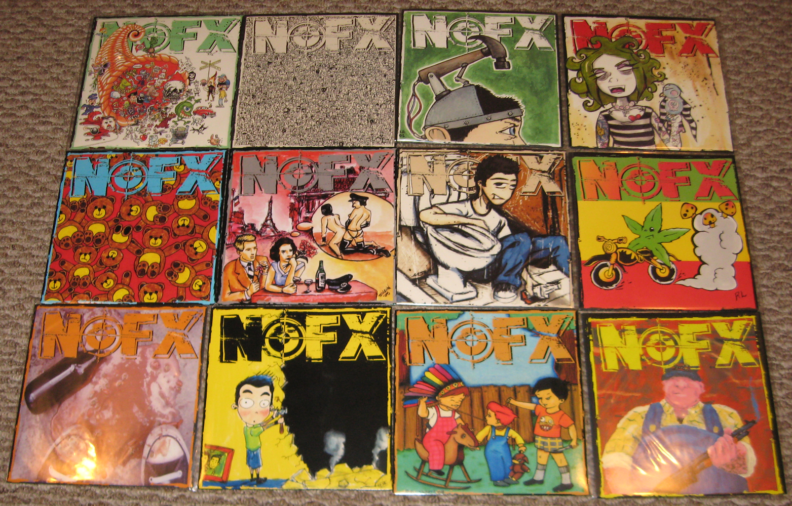 Abstract Realityartmusiclife Nofx 7 Of The Month Club