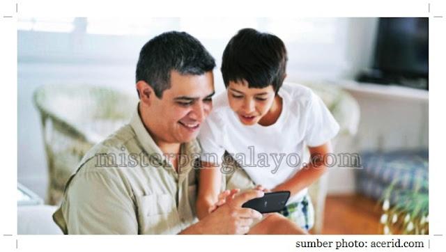 Dengan Acer Liquid Z320, anak senang, orang tua tenang!