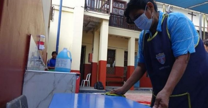 CORONAVIRUS 2020: MINEDU y Minsa intensifican trabajos de desinfección en colegios