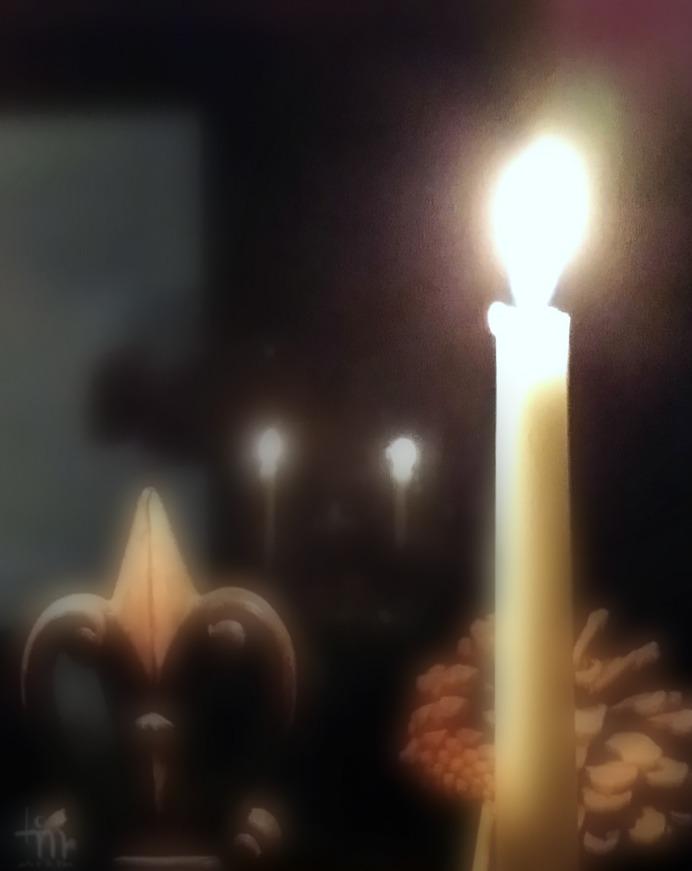 candlelights kynttilänliekki