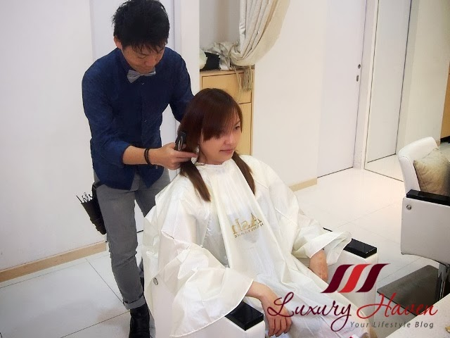 naoki yoshihara ash japanese hair salon rebonding review