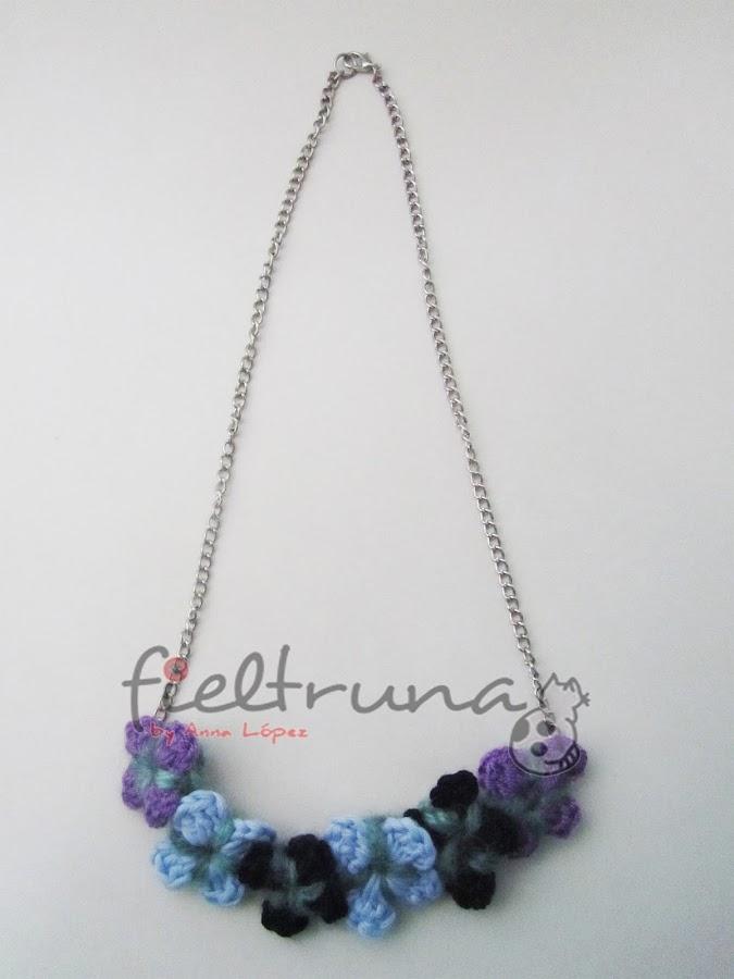 Paso a paso: collar con flores a crochet