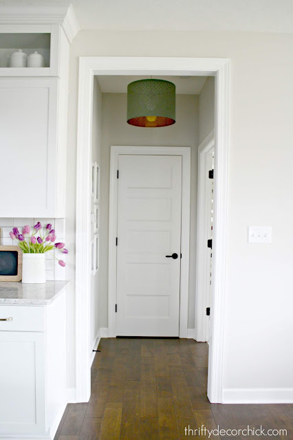 How to hang a light from a recessed light