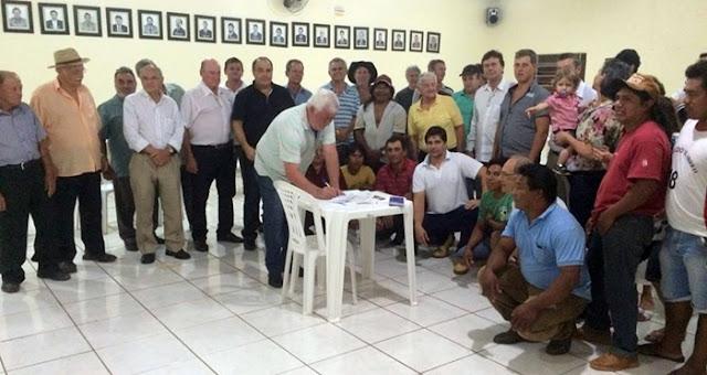 PMDB de Manoel Ribas realiza reunião e novas filiações visando eleições municipais