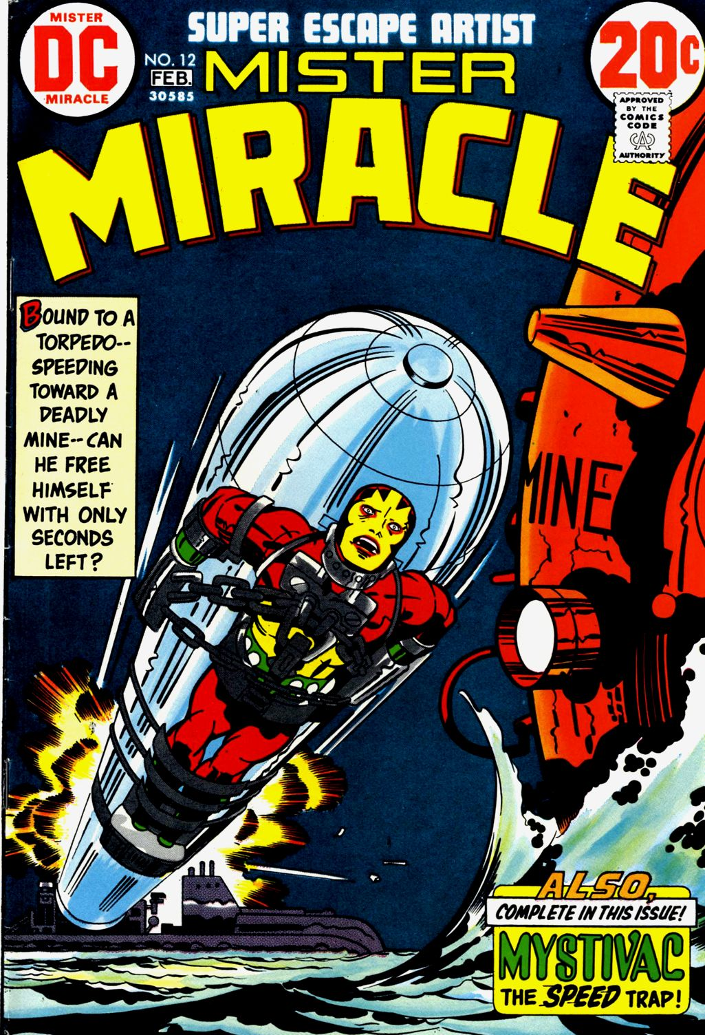 Mister Miracle (1971) issue 12 - Page 1