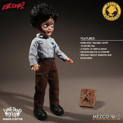 Evil Dead 2 Deadite Ash Variant Living Dead Dolls by Mezco Toyz