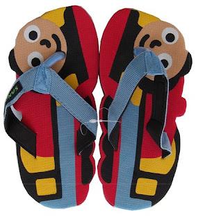 Sandal Lucu Sancu Motif Train, grosir sandal lucu sancu,