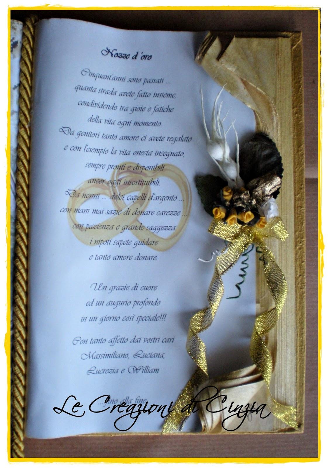 Auguri Matrimonio Tratte Da Libri : Le creazioni di cinzia aprile