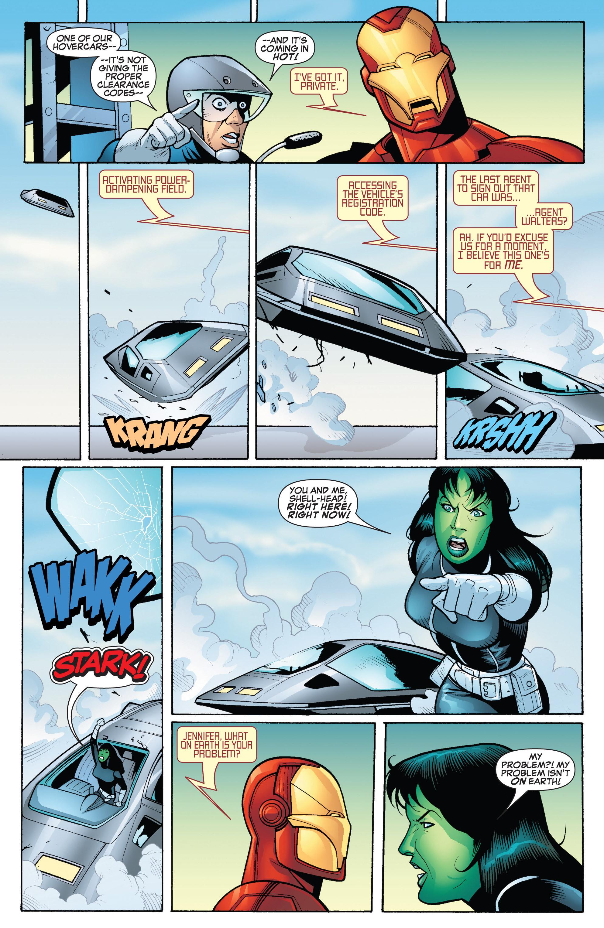 Read online She-Hulk (2005) comic -  Issue #18 - 16