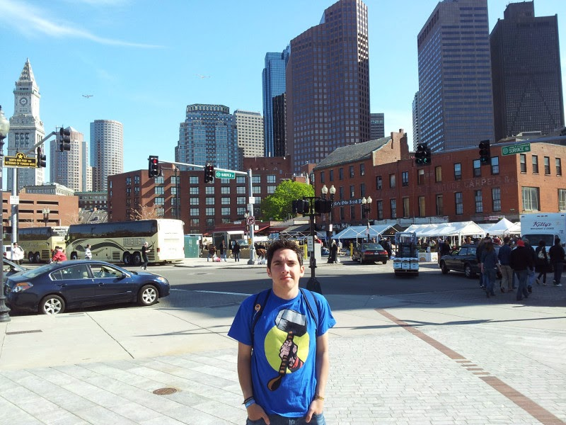 Daniel Afanador en Boston, Massachusets. Año 2012.