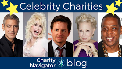 Highly-Rated Celebrity Charities: Volume 2