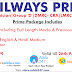 Last 2 Hours Left to Get Railway Prime: The Complete Package For Railway Examinations 2018